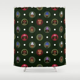 Winter Holiday Ready Shower Curtain