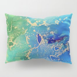 Earth From Space Pillow Sham