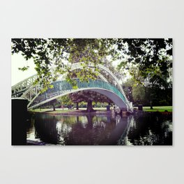 River bridge Canvas Print