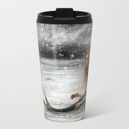 Winter Mermaid Travel Mug