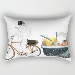 space bath Rectangular Pillow