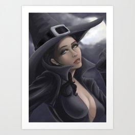 Sexy Witch Art Print