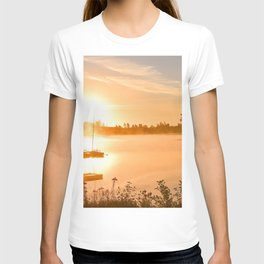 Idyllic Small Islet In A Lake Ultra HD T-shirt