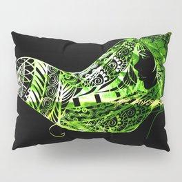 Green to Black Pillow Sham