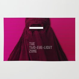The Two-eye-light Zone Rug