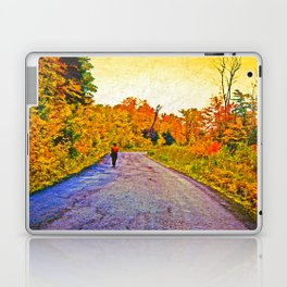 Autumn Stroll Laptop & iPad Skin