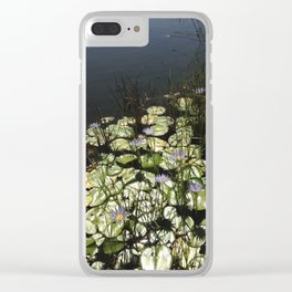 Tranguility Clear iPhone Case