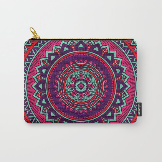 Hippie mandala 26 Carry-All Pouch