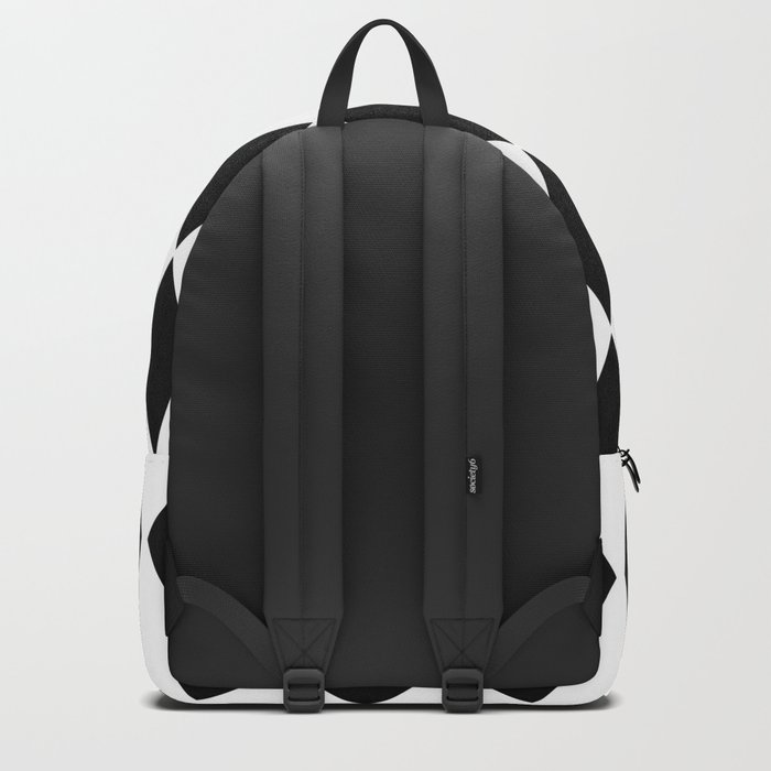 Scandinavian simple pattern . Backpack