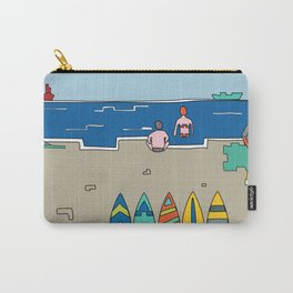 Afternoon at the beach (b) Carry-All Pouch