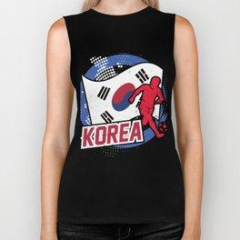 Football Worldcup Korea Korean Soccer Team Sports Footballer Rugby Gift Biker Tank