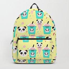 Frappuccino Panda Candy Shop Backpack