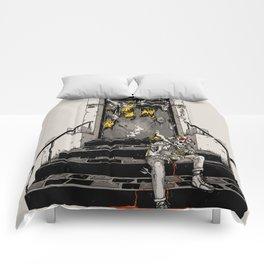 On Deaths Doorstep Comforters