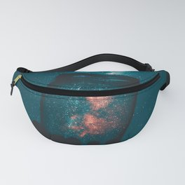 Space and Stars in a Jar Fanny Pack