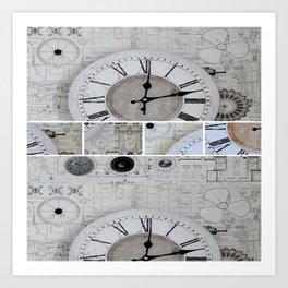 Time Art Print