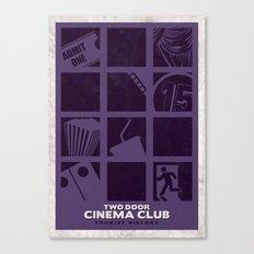 Two Door Cinema Club - Tourist History Canvas Print