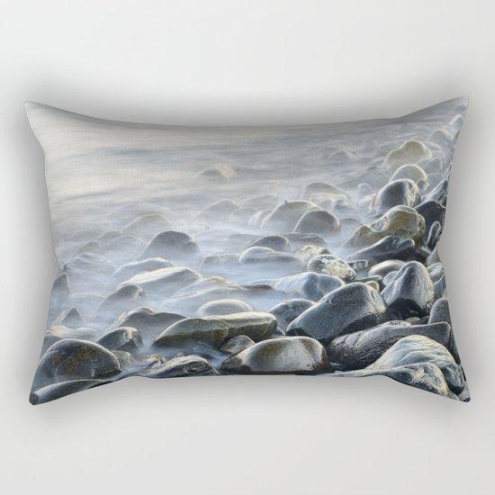 """""""Bright stones"""". Pink sunset Rectangular Pillow"""