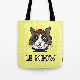 Le Meow Tote Bag