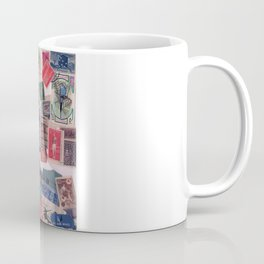20th Century through stamps Coffee Mug
