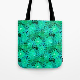 Woodruff in Blue & Green - IA Tote Bag
