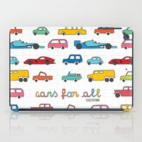 f1 iPad Cases featuring Cars for all by Magnetic Boys