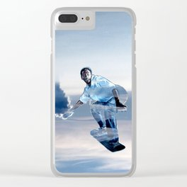 SKYSURFER Clear iPhone Case