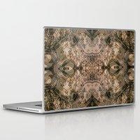 antique Laptop & iPad Skins featuring Antique Lace by Klara Acel