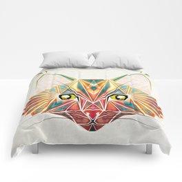 savage cat Comforters