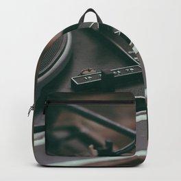 Vintage turntable Backpack