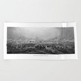 Gettysburg -- Civil War Beach Towel