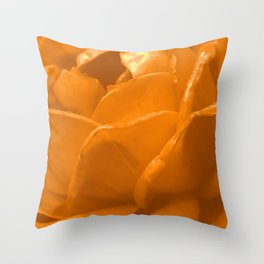 Yellow Rose II Throw Pillow