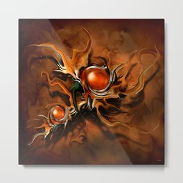 Abstraktus 13 Metal Print