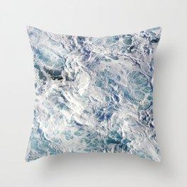 Seafoam Pacific Throw Pillow