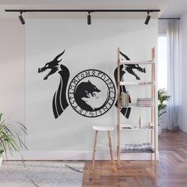 Norse Dragon - Fenrir Wall Mural