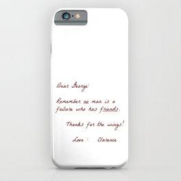 Dear George iPhone Case