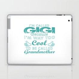 I'M CALLED GIGI Laptop & iPad Skin