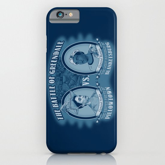 Pillowtown vs Blanketsburg iPhone & iPod Case