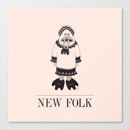 New Folk - Eat It Canvas Print