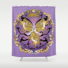 My Empire Collection Summer Set Purple Shower Curtain