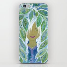 Asha's Leaves iPhone Skin