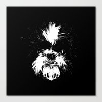 shih tzu Canvas Prints featuring Shih Tzu! by Jay Taylor