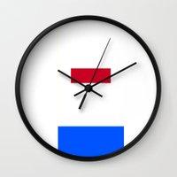 superhero Wall Clocks featuring Superhero. by Rissarae Designs