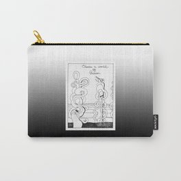 Choose a World of Passion / Booth Philosopher Series Carry-All Pouch