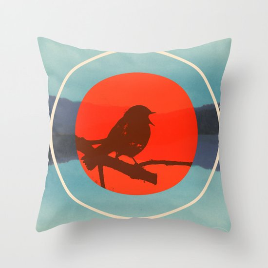 Bird Call Throw Pillow