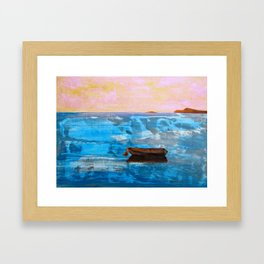 Solitude: Italy Framed Art Print