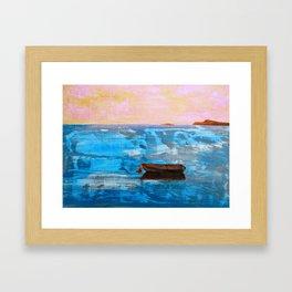 Solitude: Italy Framed Art Print