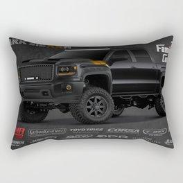 Dark Sierra Rectangular Pillow