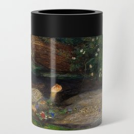 Ophelia from Hamlet Oil Painting by Sir John Everett Millais Can Cooler