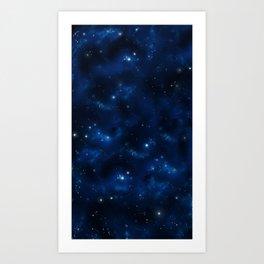 Space: Nenkaakso Front (Original) Art Print