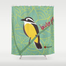 Bicho Feo - Bienteveo Shower Curtain